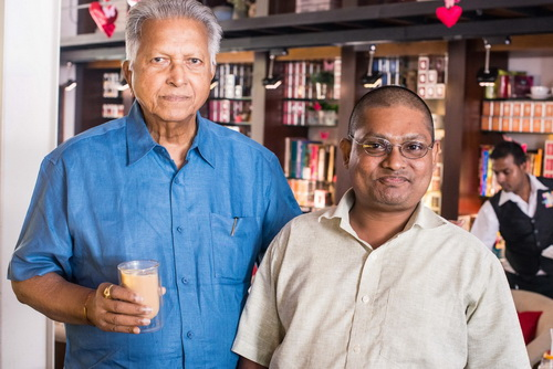 Merrill Fernando and the Writer of Common Butterflies in Sri Lanka
